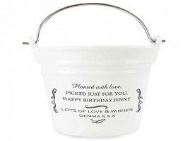 Porcelain Buckets
