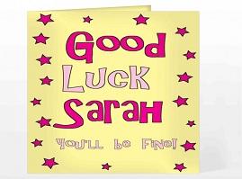 Saying Good Luck