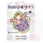 BOTD Baby Girl card