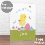 Easter Meadow Chick Card
