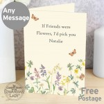 Country Diary Wild Flowers Card