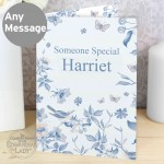 Country Diary Blue Blossom Card