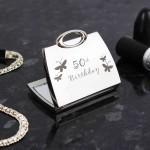 50th Butterfly Handbag Compact