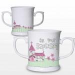 Baptism Pink Church Loving Mug