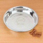 A Dogs Dream Engraved Dog Bowl