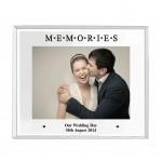 Mirrored Memories Glass Photo Frame 5x7
