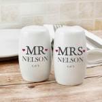 Mr & Mrs Salt And Pepper Set