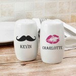 Moustache & Lips Salt and Pepper Set