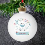 Polar Bear My 1st Chistmas Bauble