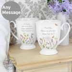 Country Diary Wild Flowers Marquee Mug