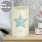 Stitch & Dot Boys LED Candle