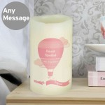 Up & Away Girls LED Candle