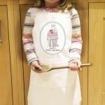 Vintage Pastel Cupcake Kids Apron
