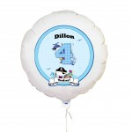 Pirate Numbers Balloon