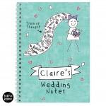 Purple Ronnie Bride Notebook