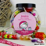 Hello Kitty Pink Christmas Sweets Jar