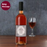 Vineyard Rose Wine