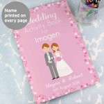 Wedding Activity Book for Girls