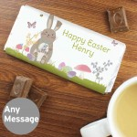 Easter Meadow Bunny Milk Chocolate Bar