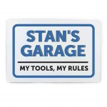 Garage Plaque