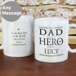 My Dad is My Hero Mug