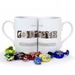 Affection Art Godparents Mug Set