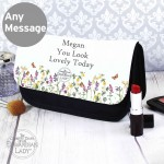 Country Diary Wild Flowers Makeup Bag
