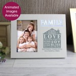 Family Typography 6x4 Light Up Frame