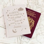 Twinkle Twinkle Cream Passport Holder