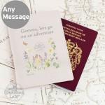 Country Diary Wild Flowers Passport Holder