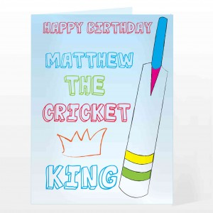 Cricket King Card