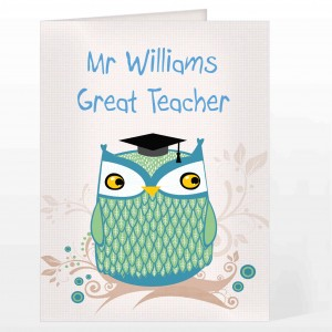 Mr Owl Card