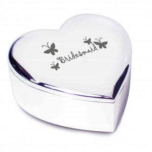Bridesmaid Heart Trinket