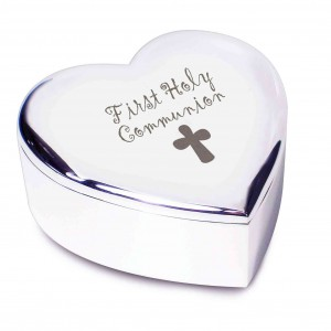 1st Holy Communion Heart Trinket