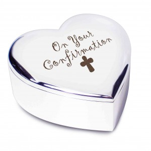 Confirmation Cross Heart Trinket