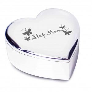 Step Mum Heart Trinket