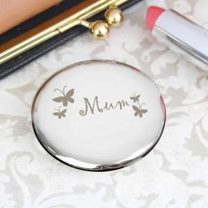Mum Round Compact
