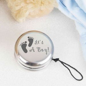Its a Boy Footprints YOYO