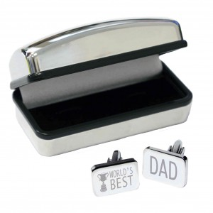 World's Best Dad Cufflinks