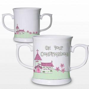 Pink Confirmation Church Loving Mug