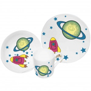 Space Breakfast Set