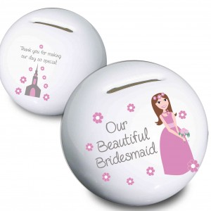 Fabulous Bridesmaid Money Box