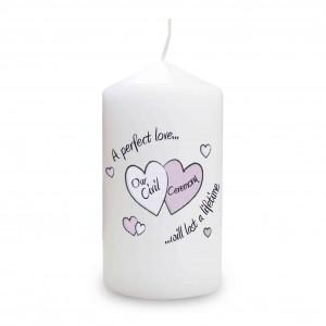 Perfect Love Civil Ceremony Candle