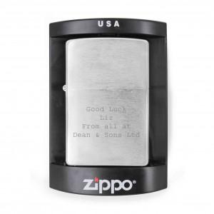 Chrome Zippo Lighter