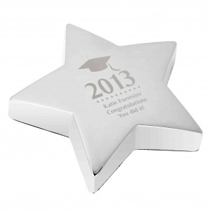 Mortar Board Star Paperweight