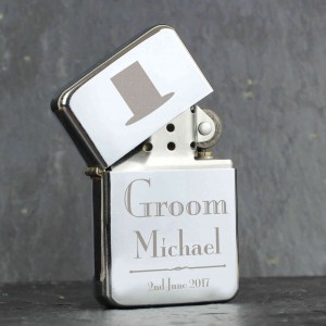 Decorative Wedding Groom Lighter
