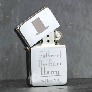 Decorative Wedding Father of the Bride Lighter
