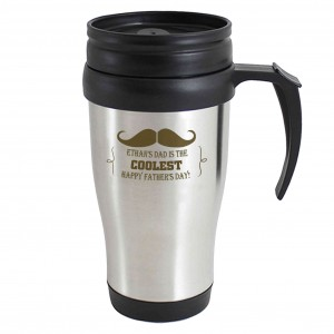 Moustache Travel Mug