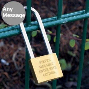 Any Message Padlock