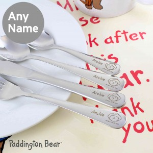 Paddington Bear Cutlery Set